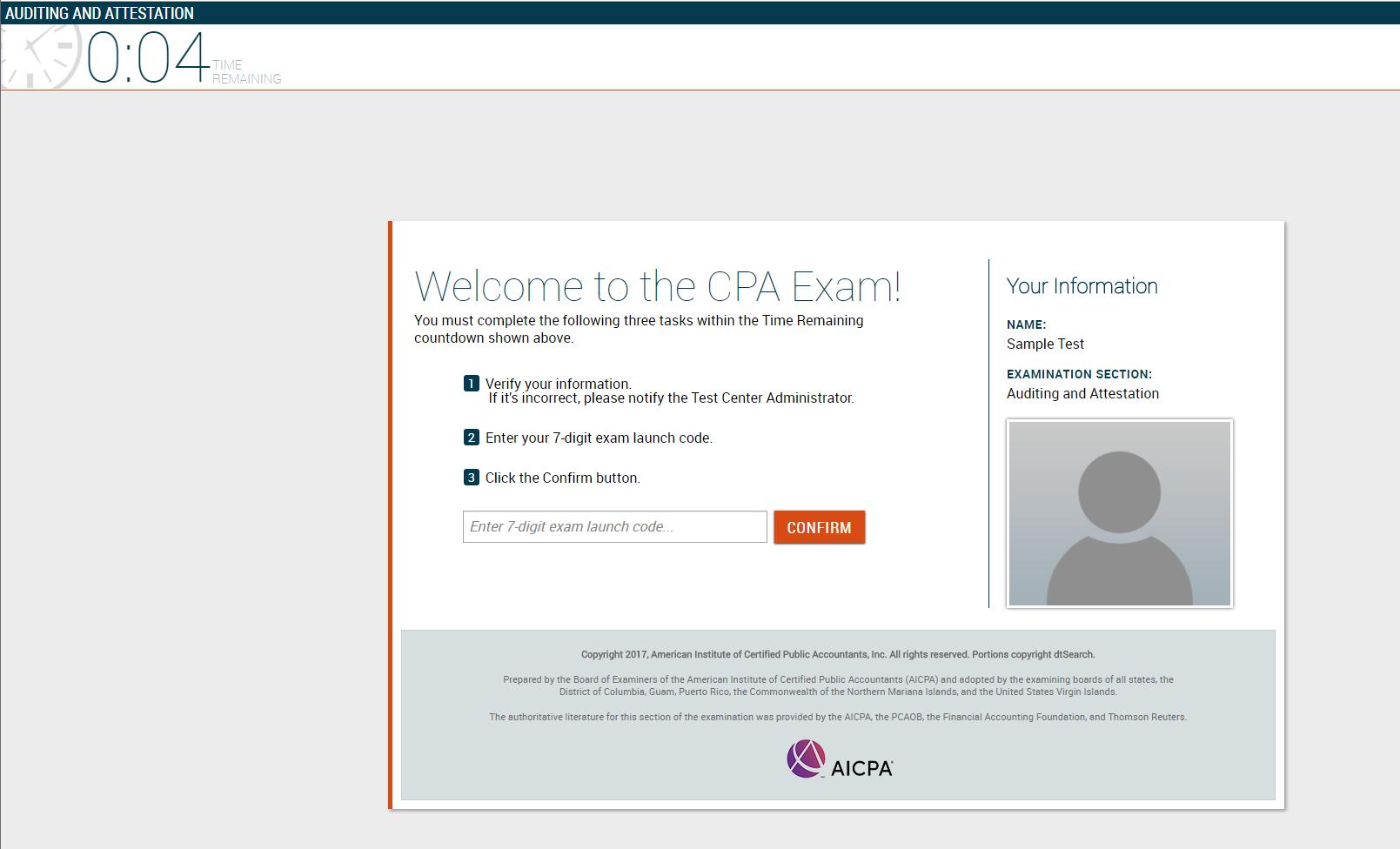 practice cpa exam