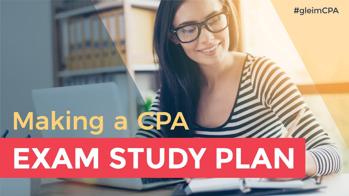 cpa exam study plan