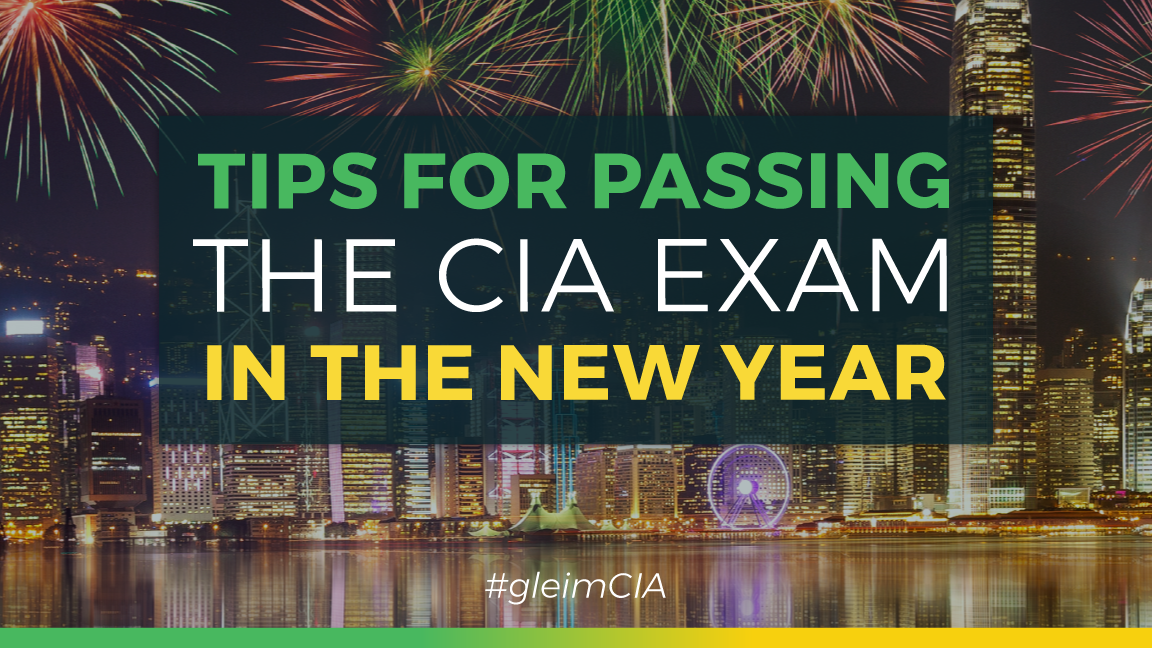 tips to pass the cia exam in 2018