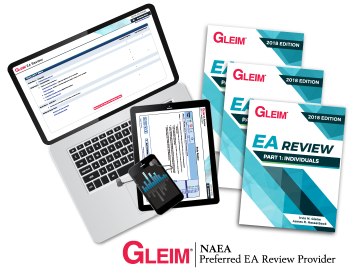 Gleim Enrolled Agent Review study materials