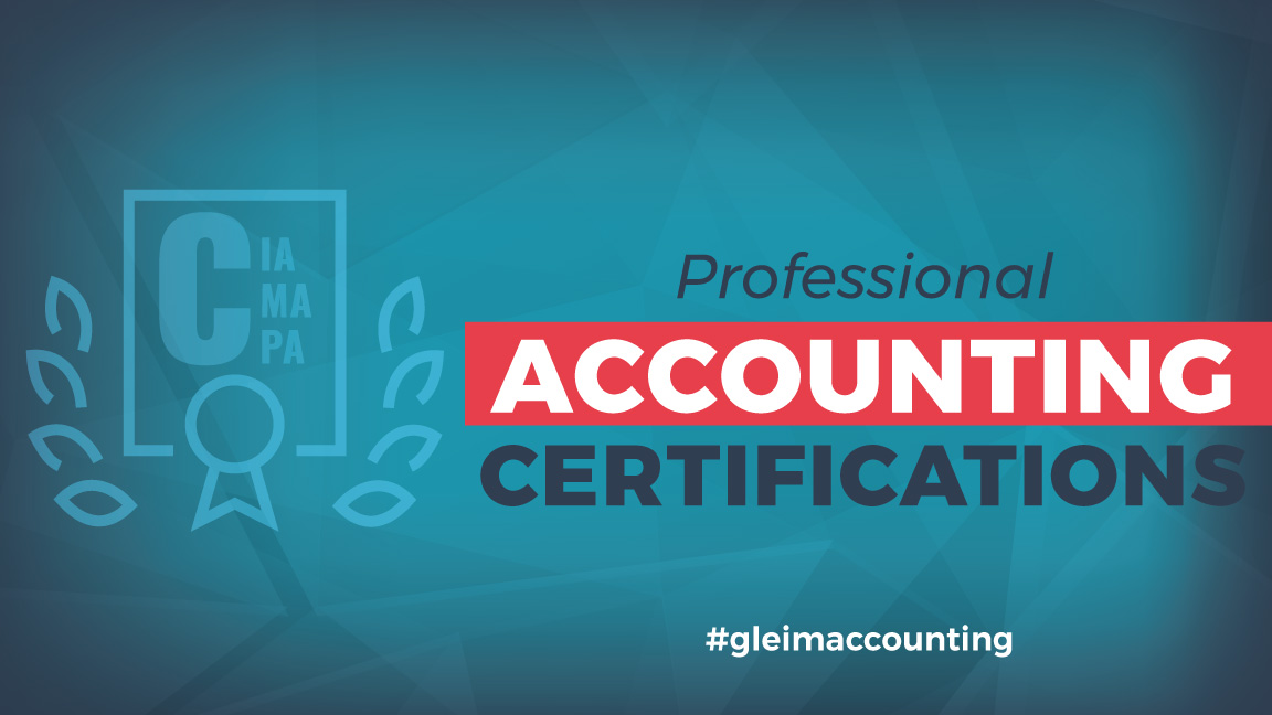 CIA, CMA, CPA, Professional Accounting Certifications