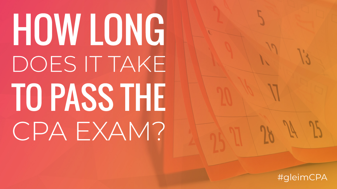 how long does it take to pass the cpa exam