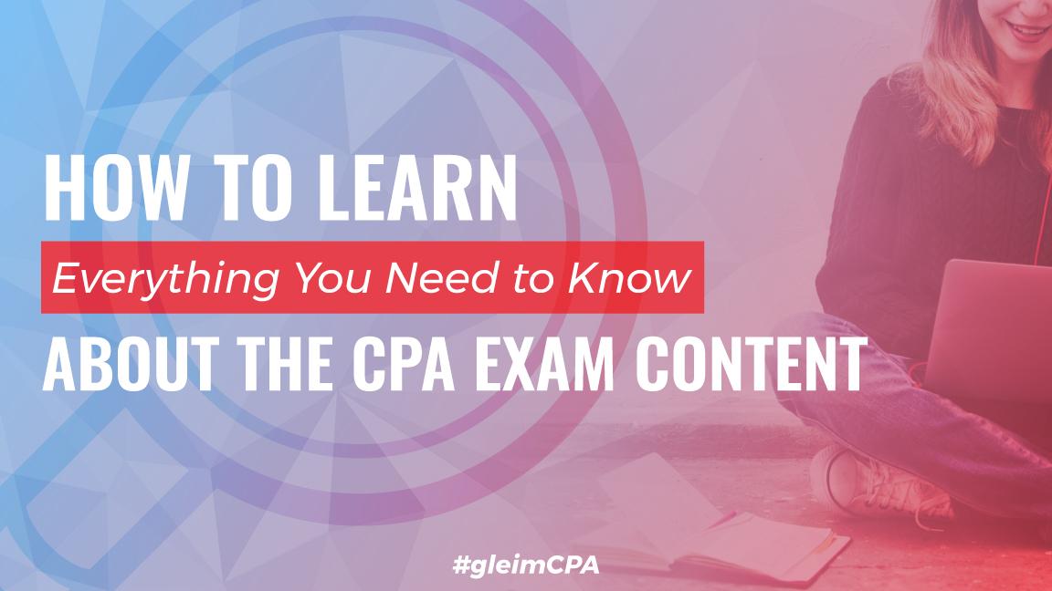 cpa exam content