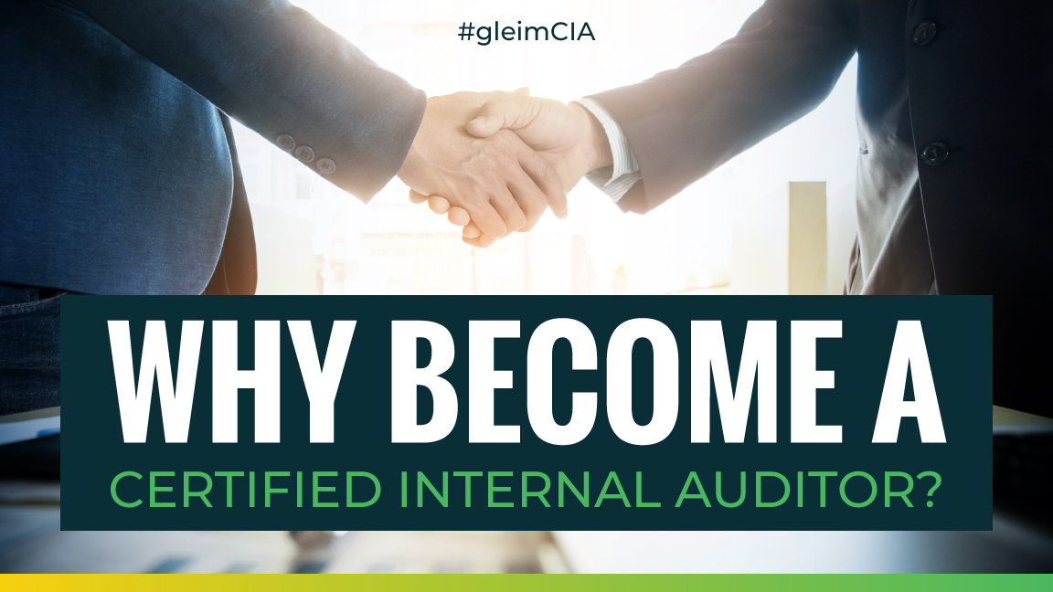 why become a certified internal auditor