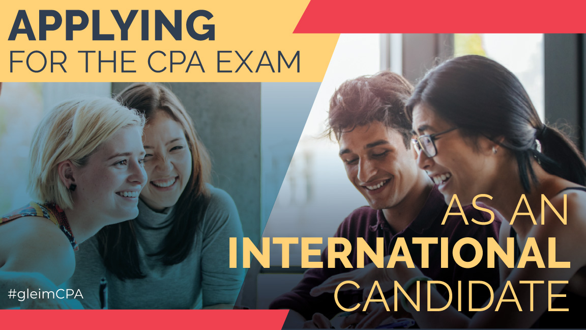 applying for the cpa exam as an international candidate