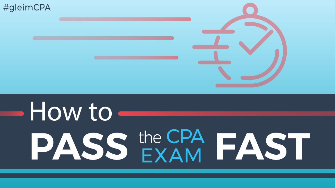 how to pass the cpa exam fast