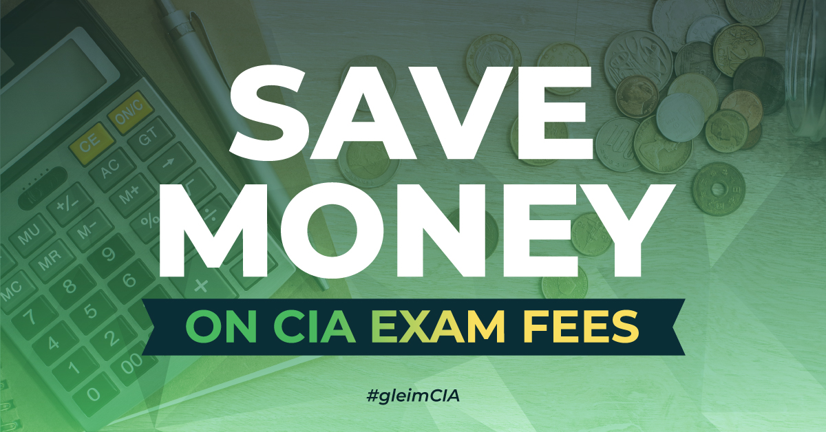 How to Save Money on CIA Exam Fees