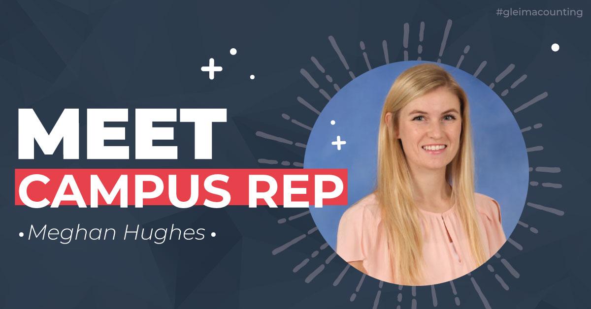 Gleim Campus Rep Meghan Hughes