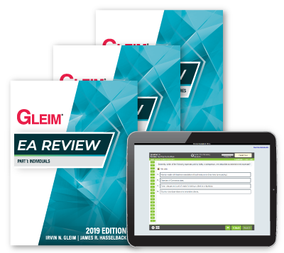 Gleim 2019 Edition EA Review Mega Test Bank