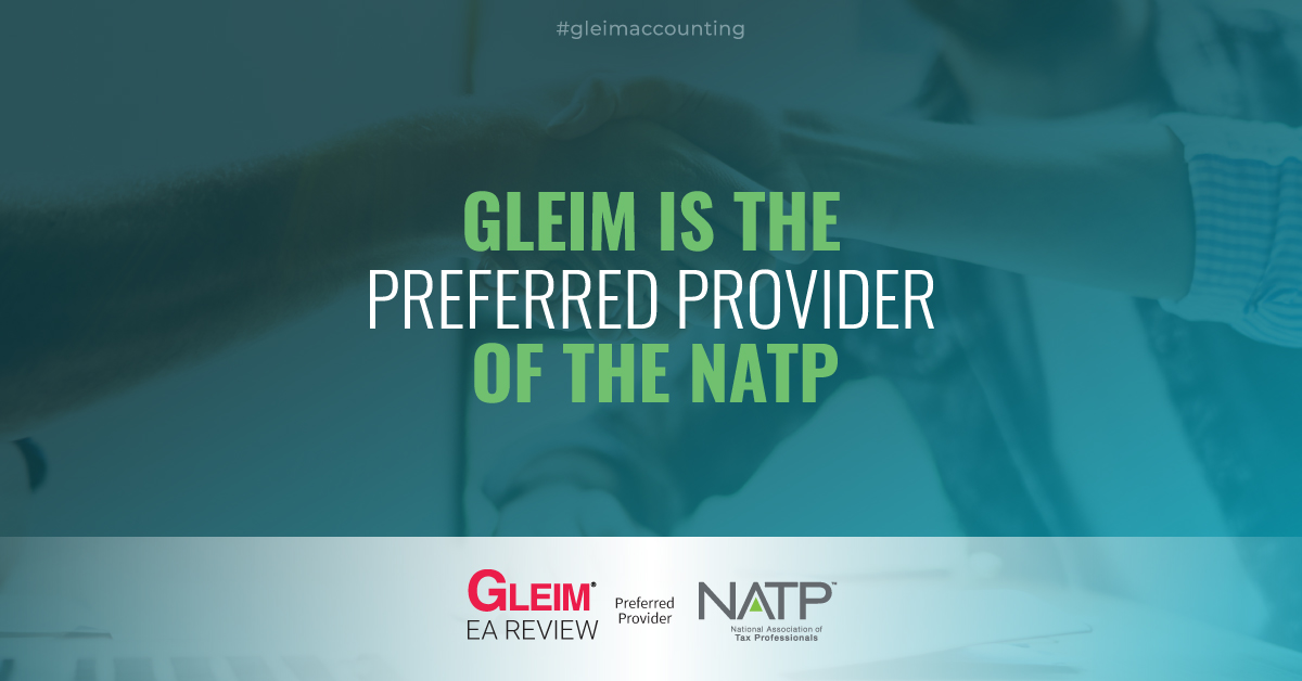 Gleim and the NATP Partnership