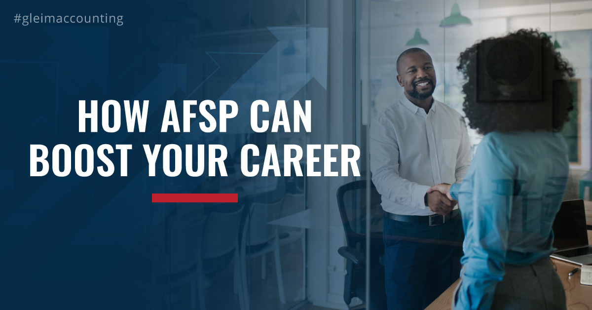 How AFSP Can Boost Your Career