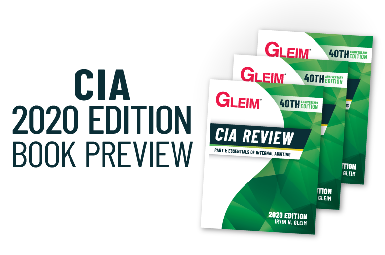 Gleim CIA Review 2020 Edition Book Preview