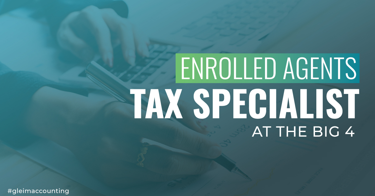 Enrolled Agents are Tax Experts