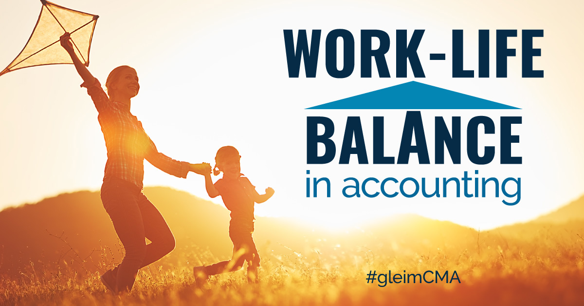 Improvements in work-life balance in accounting