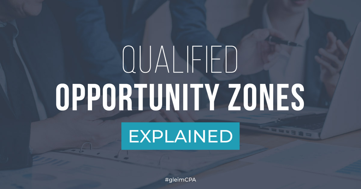 Qualified Opportunity Zones Explained