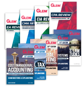 Gleim Accounting Books