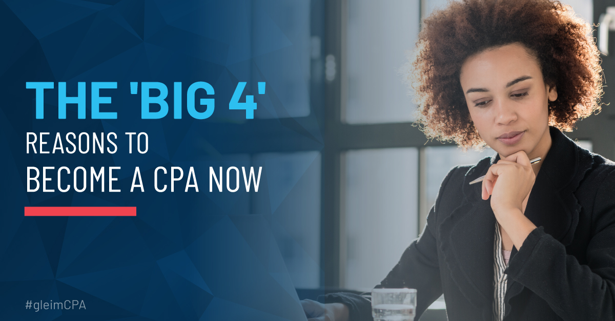 4 big reasons to become a CPA