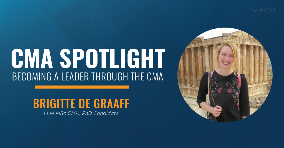 CMA Spotlight: Becoming a Leader through the CMA