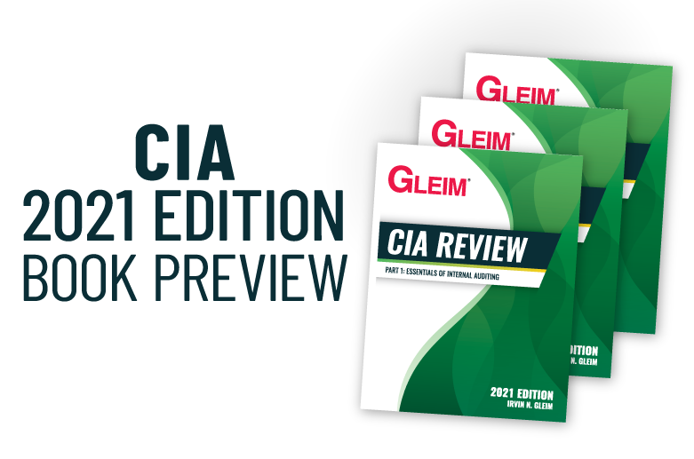 Gleim CIA Review 2021 Edition Book Preview
