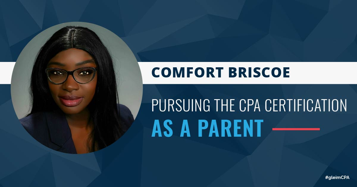 Comfort Briscoe: Pursuing the CPA Certification as a Parent