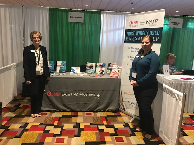 Personal Counselor Soncera Keene with CPA Product Manager Valerie Wendt at a conference