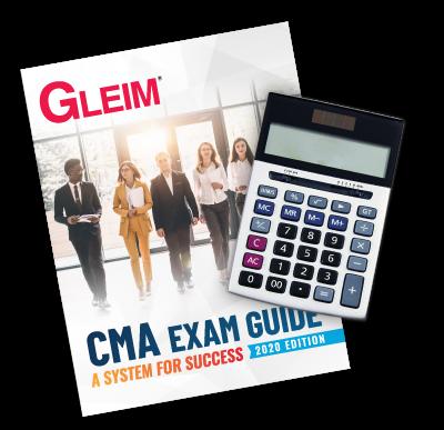Gleim CMA Exam Guide 2020 Edition