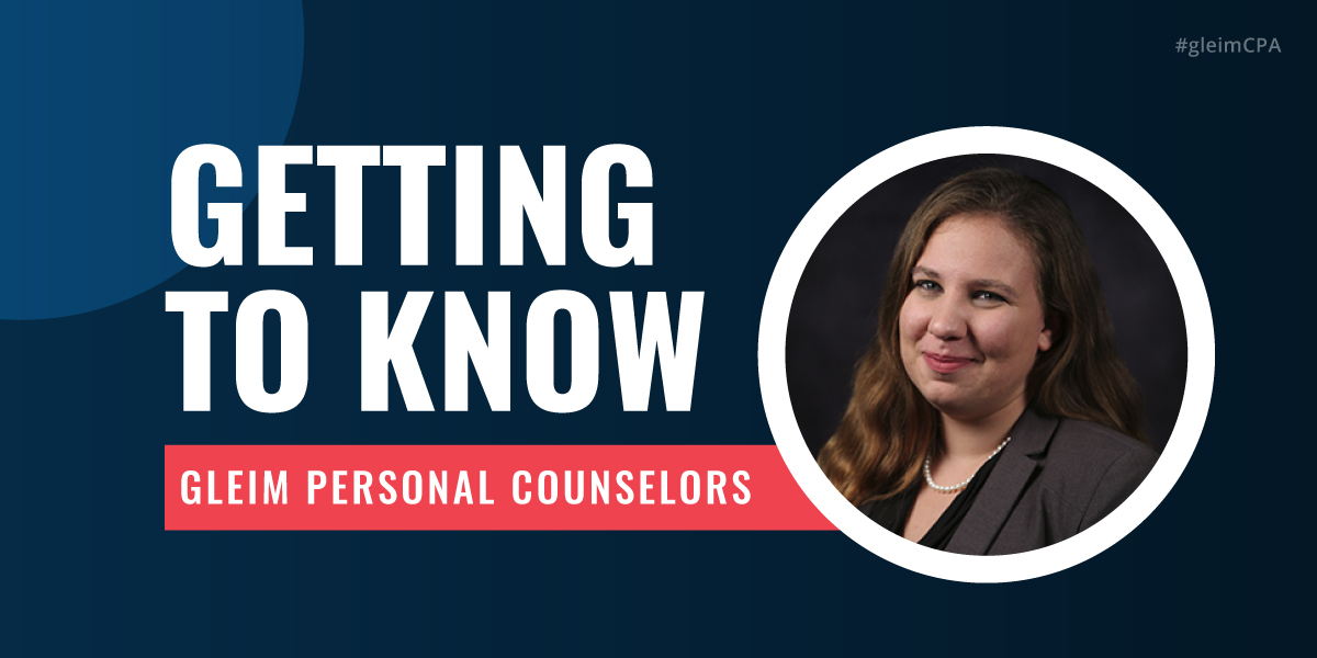 Getting to Know Gleim Personal Counselor Soncera Keene.