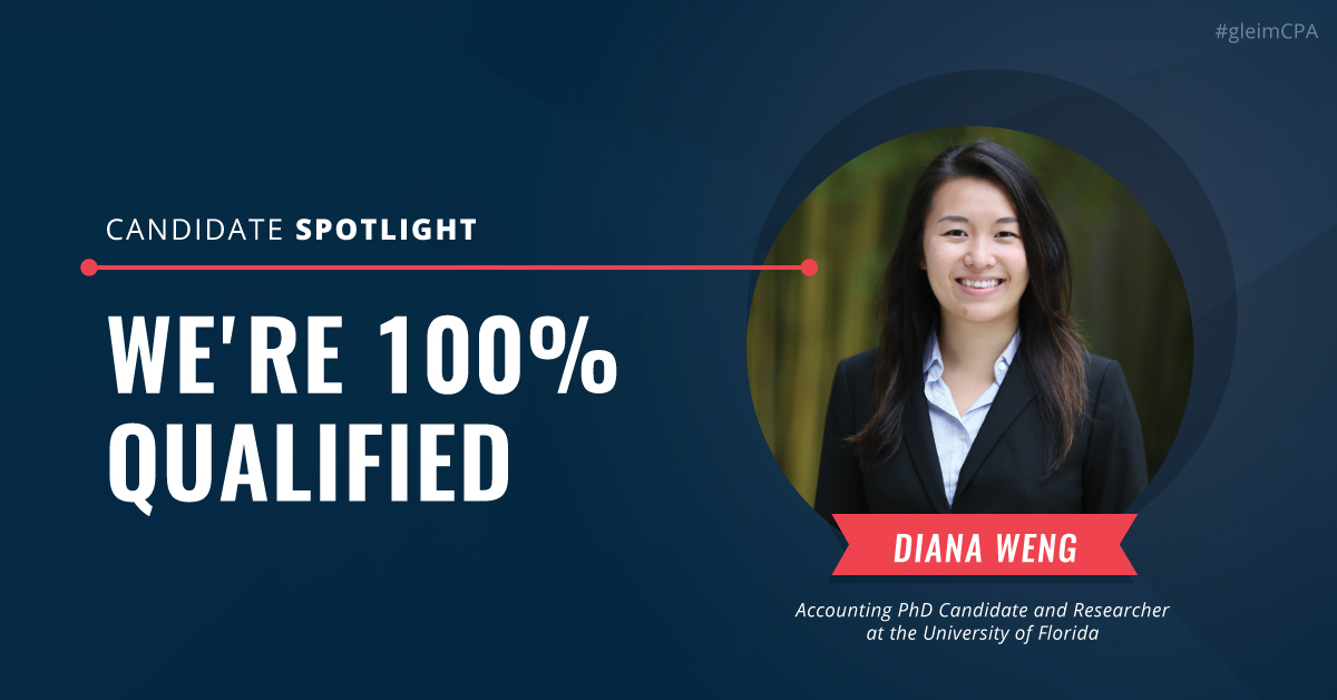 Candidate Spotlight: We're 100% Qualified
