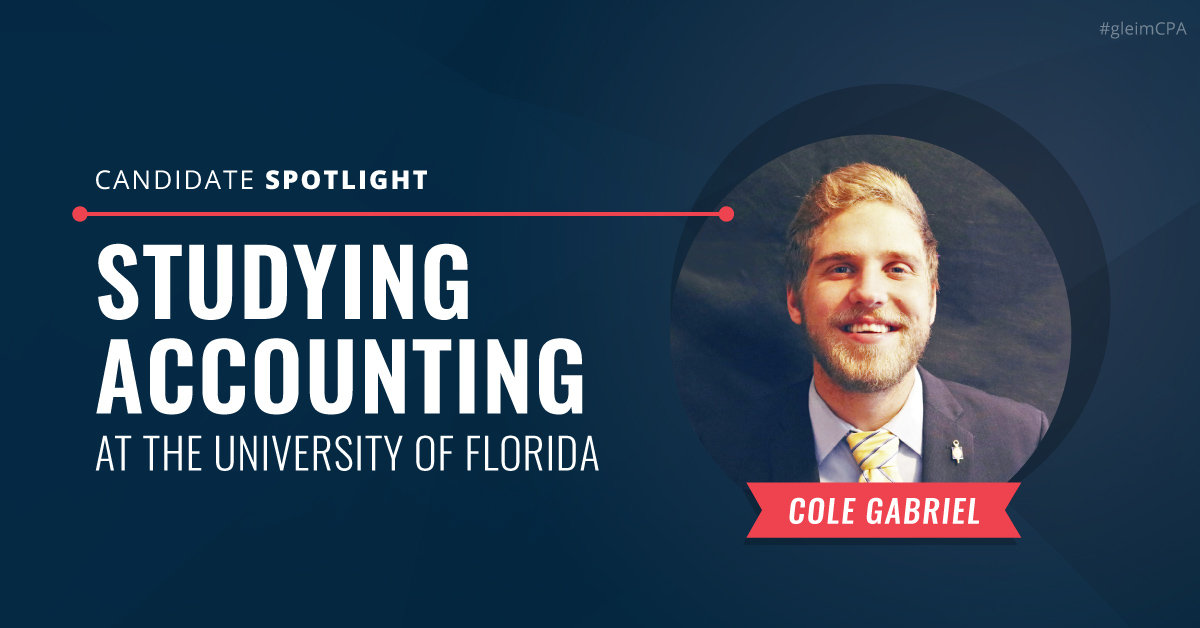 Candidate Spotlight: Studying Accounting at the University of Florida