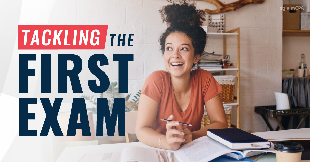 Tackling the First CPA Exam