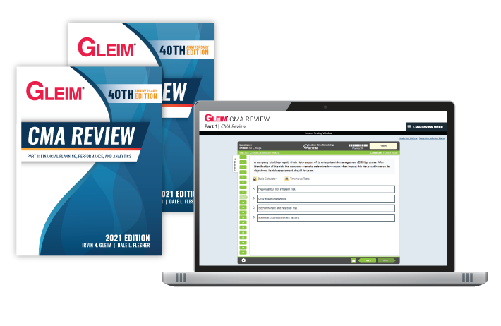 Gleim CMA Review Mega Test Bank Set