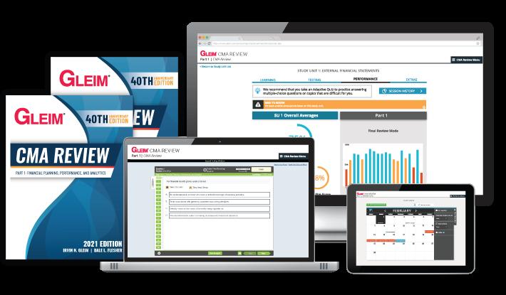 Gleim Traditional CMA Review System