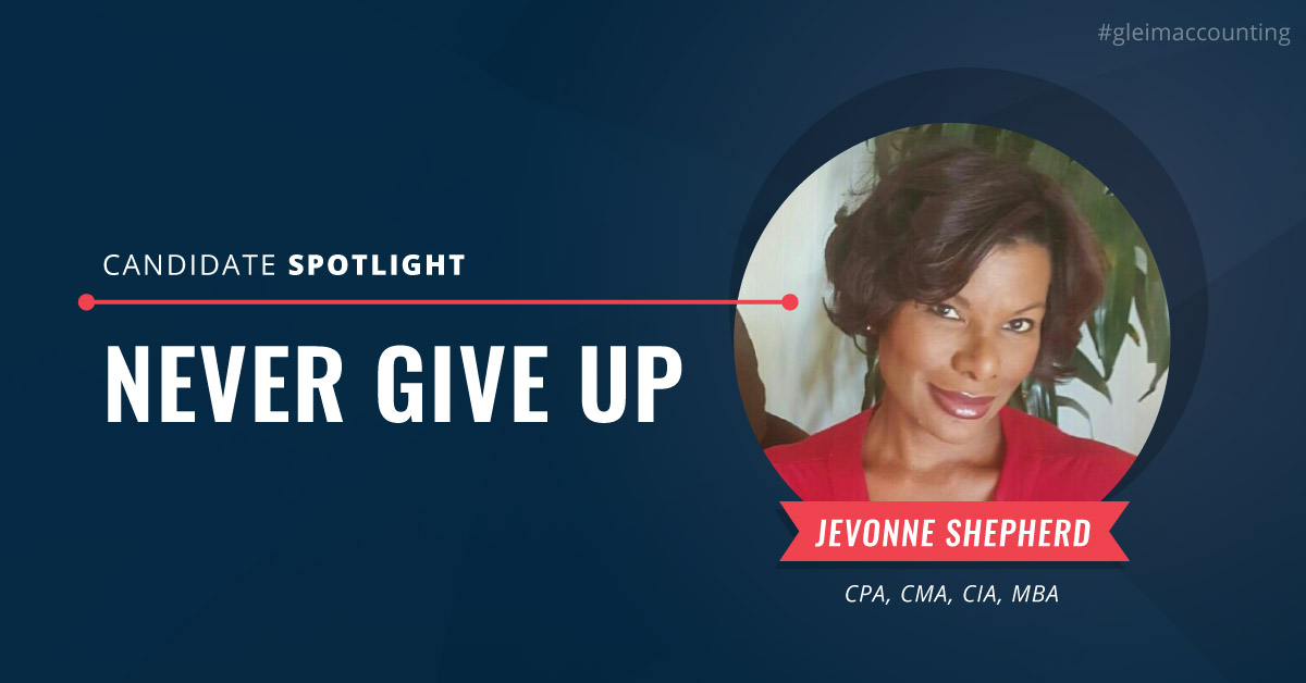 Candidate Spotlight Never Give Up
