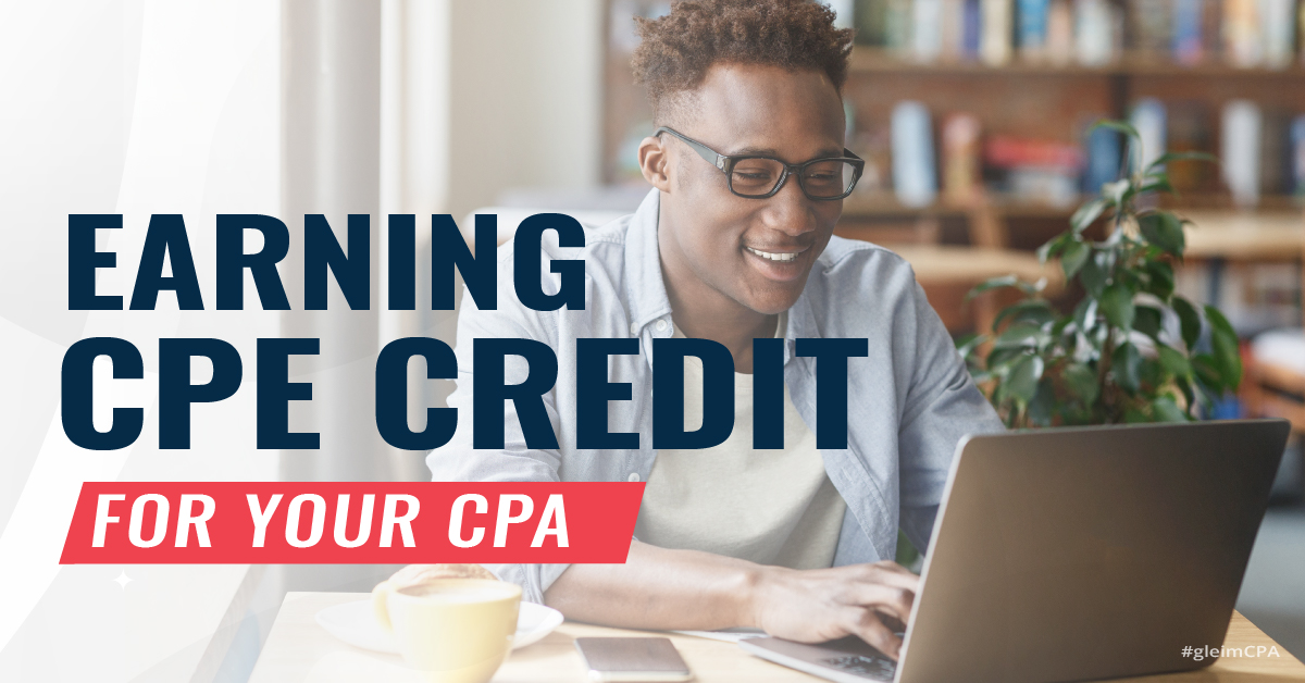 Earning CPE credit for your CPA