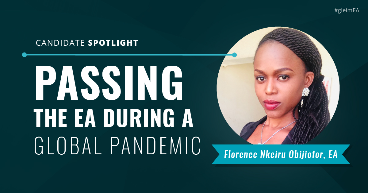 EA Candidate Spotlight: Florence Nkeiru Obijiofor - Passing during a global pandemic
