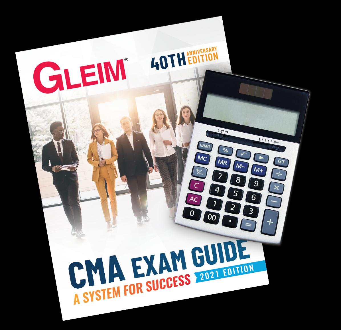 Gleim CMA Exam Guide: A System for Success 2021 Edition