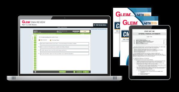 Gleim CMA Mega Test Bank