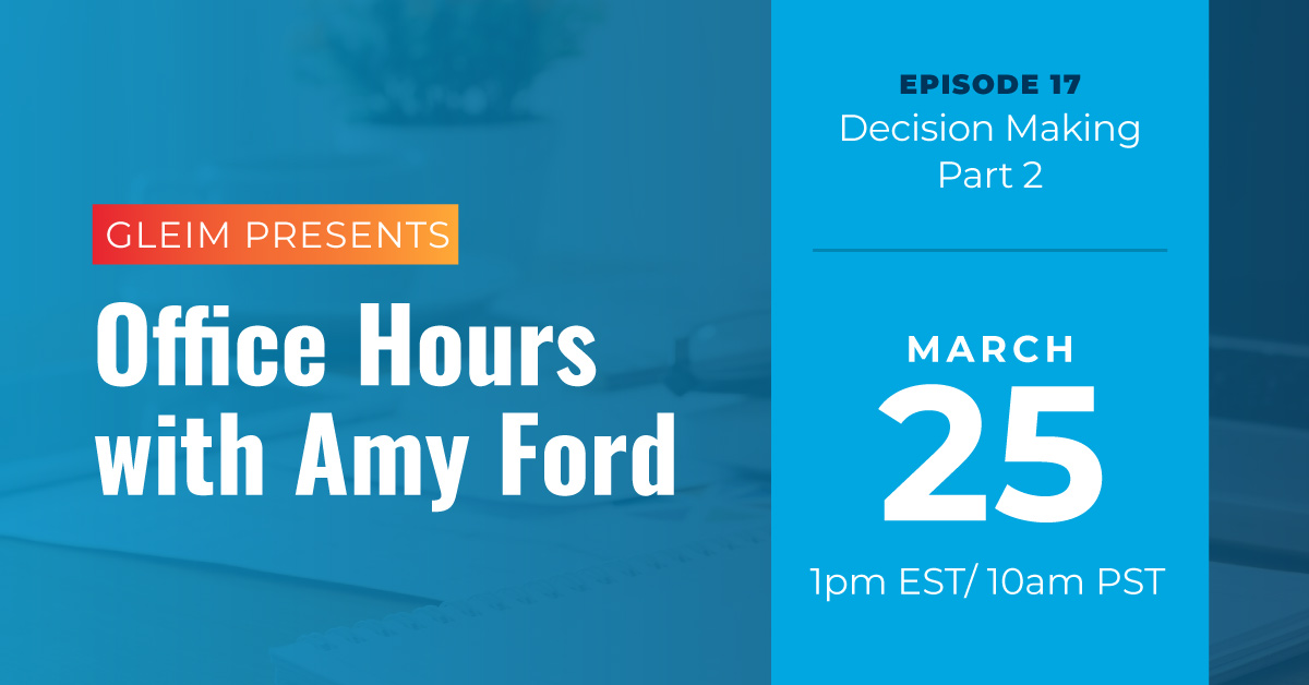 Office Hours with Amy Ford, episode 17.
