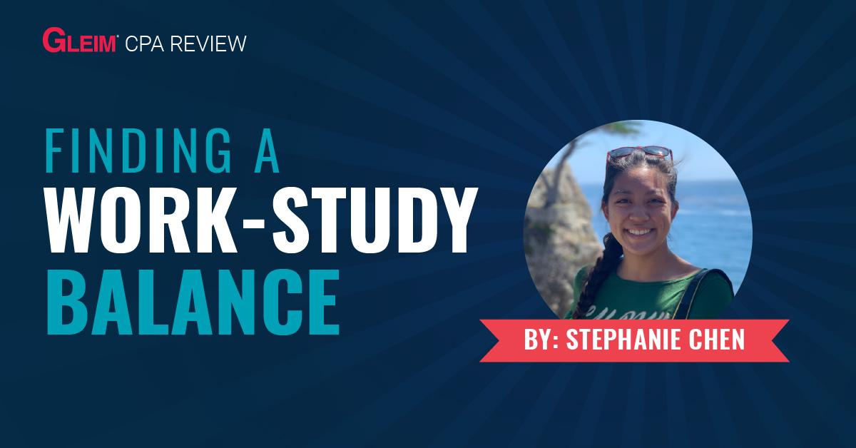 Finding a work-study balance
