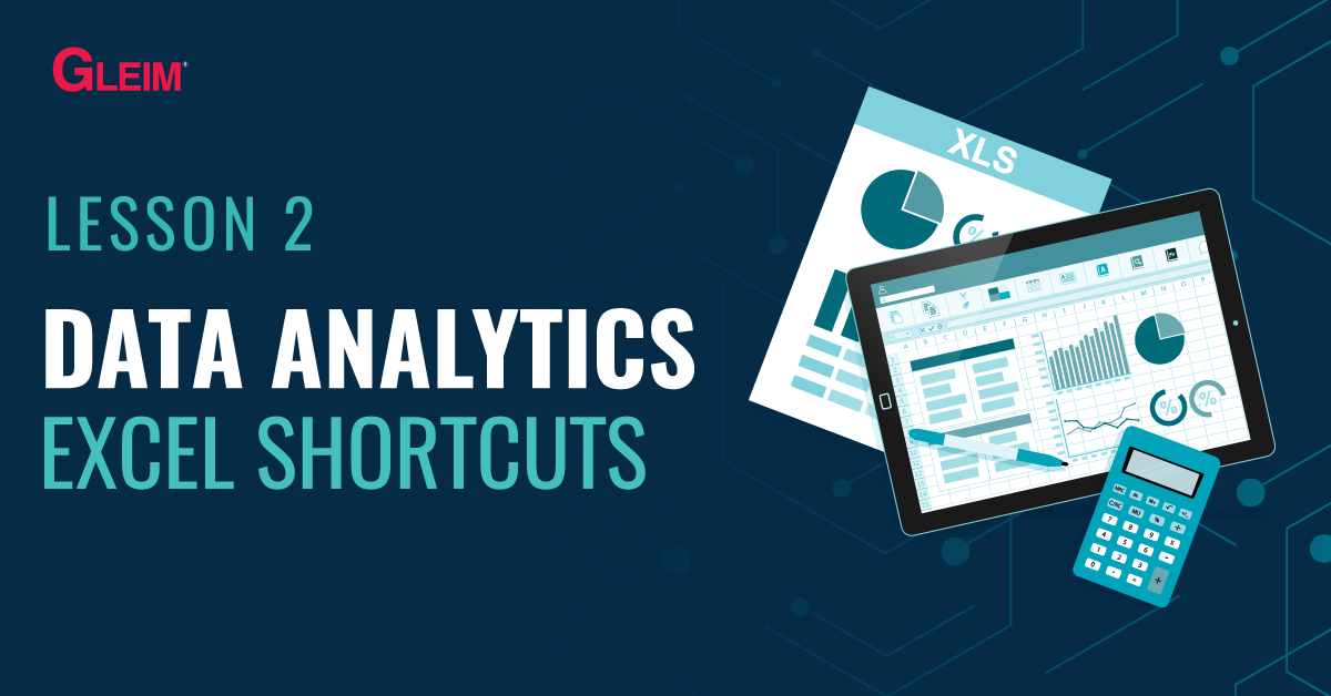 Data Analytics Excel Shortcuts
