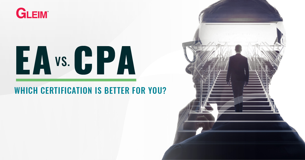 EA vs CPA: Which certification is better for you?