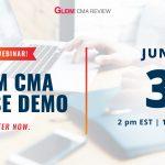 Free Webinar! Gleim CMA Course Demo | Register Now | June 3