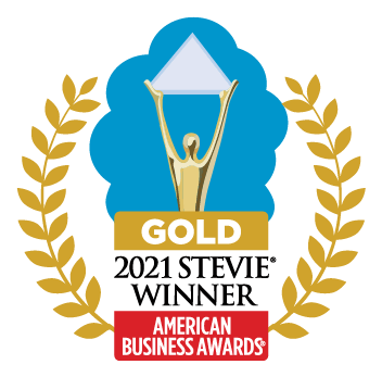 Gold 2021 Stevie Winner from American Business Awards