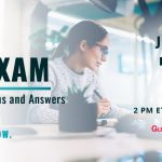 New Webinar | EA Exam Live Questions and Answers | July 7