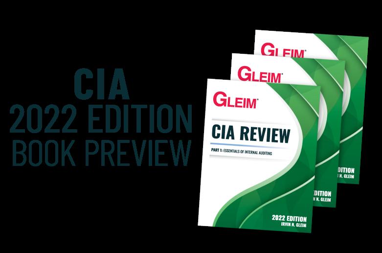 Gleim CIA Review 2022 Edition Book Preview