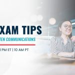 Free Webinar | CPA Exam Tips: Tackling Written Communications | Sept 9