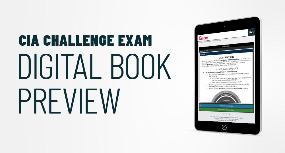 CIA Challenge Course Digital Book Preview