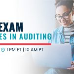 Free Webinar | CPA Exam Changes In Auditing | Oct 20 | 1pm ET